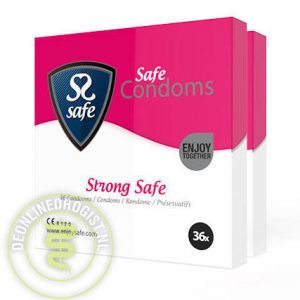 Safe Condooms Strong Safe 72st