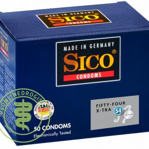 Sico 54 (Fifty-Four) X-Tra Condooms