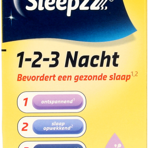 Sleepzz 1-2-3 Nacht Capsules