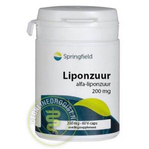 Springfield Alpha Liponzuur 200mg
