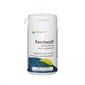 Springfield Ferrincell 44mg Capsules