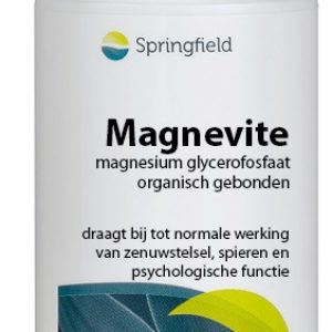 Springfield Magnevite Magnesium Glycerofosfaat 100mg Tabletten 60st