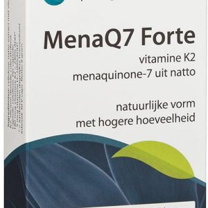 Springfield MenaQ7 Forte Vitamine K2 180mcg Capsules 30st