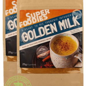 Superfoodies Golden Milk Weekportie