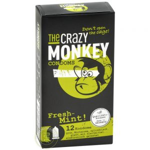 The Crazy Monkey Fresh Mint! Condooms