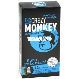 The Crazy Monkey Fun+Friction! Condooms