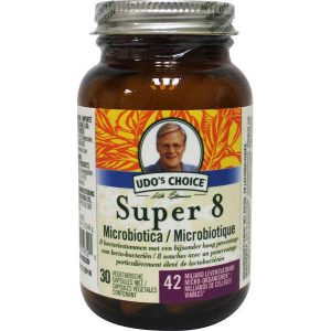 Udos Choice Super 8 Microbiotica Capsules 30st