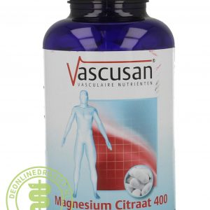 Vascusan Magnesium Citraat 400 Tabletten 200st