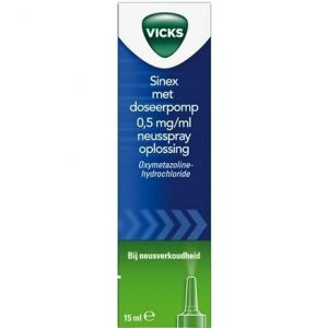 Vicks Sinex Doseerpomp 15ml