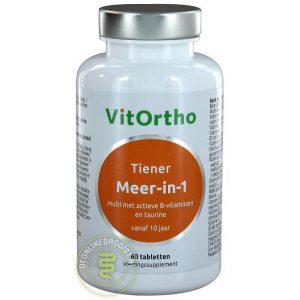VitOrtho Meer In 1 Tiener Tabletten 60st