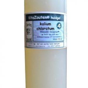 Vita Reform Vitazouten Huidgel Nr. 4 Kalium Chloratum Muriaticum 90ml