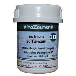 Vita Reform Vitazouten Nr. 10 Natrium Sulfuricum 120st