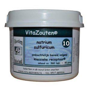 Vita Reform Vitazouten Nr. 10 Natrium Sulfuricum 360st