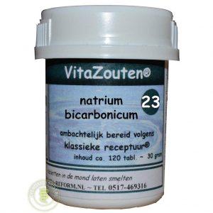 Vita Reform Vitazouten Nr. 23 Natrium Bicarbonicum 120st