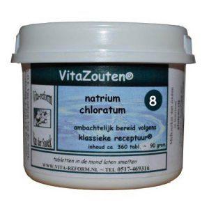 Vita Reform Vitazouten Nr. 8 Natrium Chloratum Muriaticum 360st