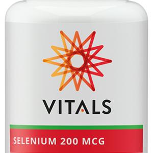Vitals Selenium 200mcg Capsules