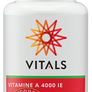 Vitals Vitamine A 4000 IE Capsules