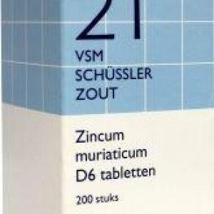 Vsm Schussler 21 Zincum Muriaticum D6 Tabletten