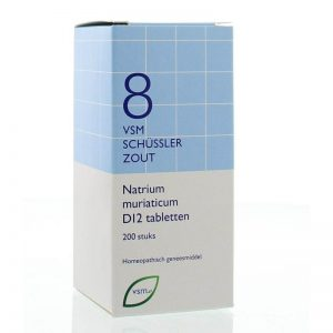Vsm Schussler Celzout No.8 Natrium Muriaticum D12 Tabletten 200st