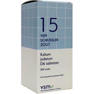 Vsm Schussler Celzout Nr.15 Kalium Jodatum D6 Tabletten 200st