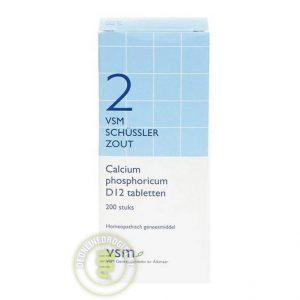 Vsm Schussler Celzout Nr.2 Calcium Phosphoricum D12 Tabletten 200st