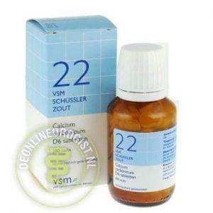 Vsm Schussler Celzout Nr.22 Calcium Carbonicum D6 Tabletten 200st