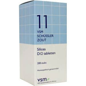 Vsm Schussler No.11 Silicea D12 Tabletten 200st
