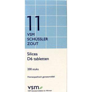 Vsm Schussler No.11 Silicea D6 Tabletten 200st