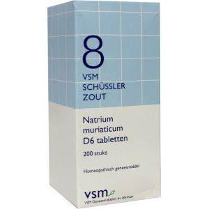 Vsm Schussler No.8 Natrium Muriaticum D6 Tabletten 200st