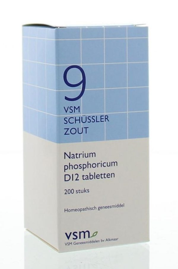 Vsm Schussler No.9 Natrium Phosphoricum D12 Tabletten 200st