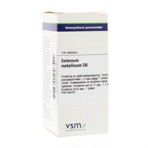 Vsm Selenium Metallicum D6 Tabletten 200st