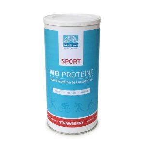 Wei proteine concentraat sport aardbei