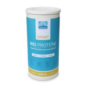 Wei proteine concentraat sport vanille