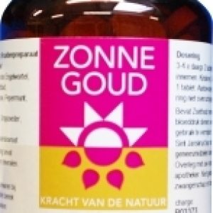 Zonnegoud Angelica Complex Tabletten