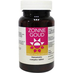 Zonnegoud Hamamelis Complex Tabletten