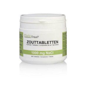 Zouttabletten 1000 mg NACL