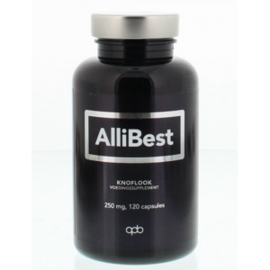 Allibest Knoflook 250mg Capsules 120st