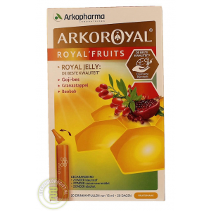 arkopharma arkoroyal royal fruits drinkampullen