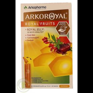 arkopharma arkoroyal royal fruits drinkampullen