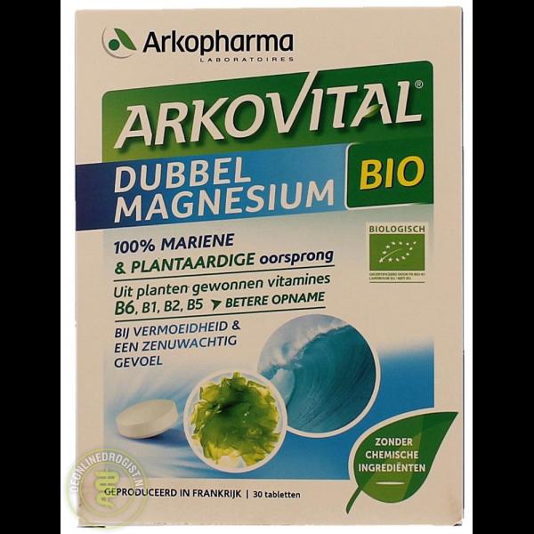 arkopharma arkovital dubbel magnesium bio tabletten