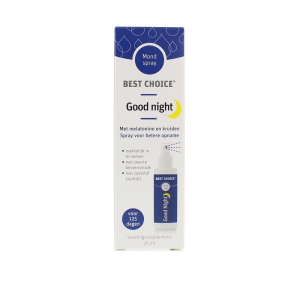 Best Choice Good Night / Melatonine Plus Spray