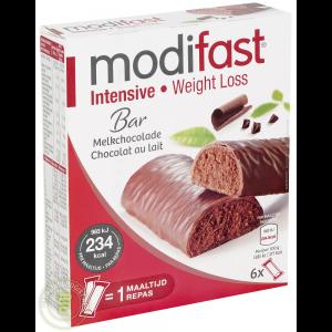 Modifast Intensive Reep Melkchocolade