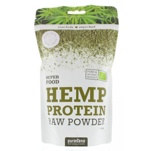 Purasana Hemp Protein Raw Powder