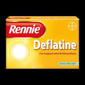 rennie deflatine tabletten opgeblazen gevoel