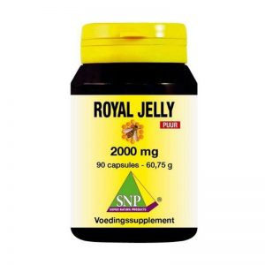 royal jelly 2000 mg puur 90 capsules
