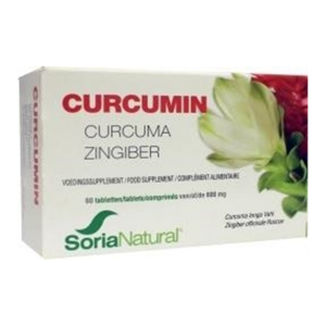 Soria Natural Curcumin Tabletten 60st