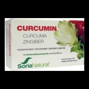 Soria Natural Curcumin Tabletten 60st