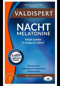 valdispert nacht melatonine voorzijde