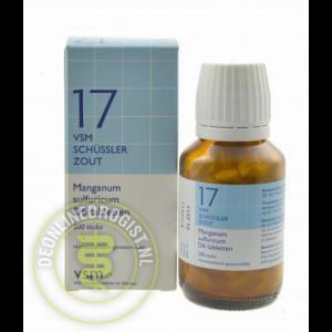 Vsm Schussler Celzout Nr.17 Manganum Sulfuricum D6 Tabletten 200st