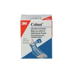 3M Coban Action Wrap Zwachtel Blauw